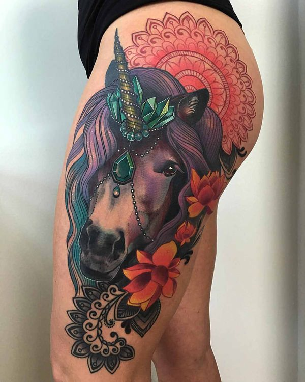 69280116-unicorn-tattoo-designs