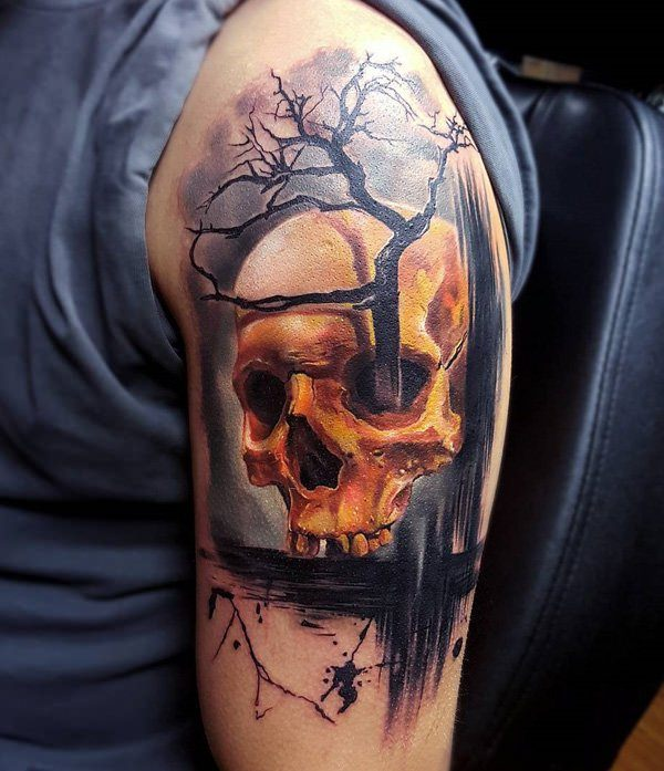 original tattoo skulls - photo #48