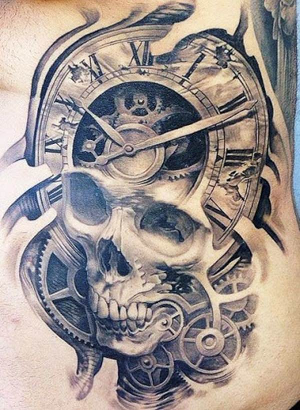 63 skull tattoos for the badass in you for Skull tattoos meaning