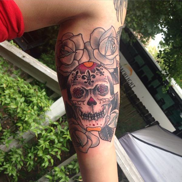 43b27b7080185 63 Skull Tattoos for the Badass In You