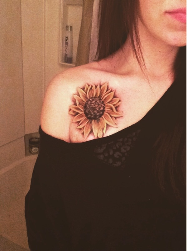 53 Sunflower Tattoos Blossoms Seeking Out Light